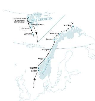 Spitzbergen und norwegische Fjorde