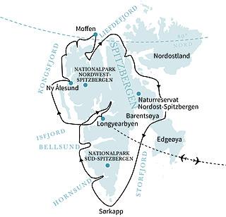 Umrundung Spitzbergen im Reich der Eisbären